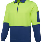 JB's Hi Vis 1/2 Zip Fleecy