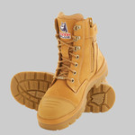 STEEL BLUE SOUTHERN CROSS ZIP SIDE SAFETY WORK BOOT