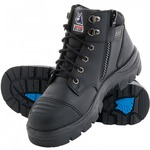 STEEL BLUE PARKES ZIP SIDE SCUFF CAP Safety Work Boots